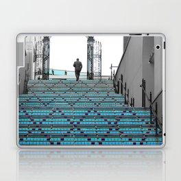 Mystery Man on the Blue Stairway to Heaven, Kansas City Laptop & iPad Skin