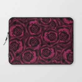 Dark Burgundy roses. Laptop Sleeve