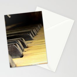 Player Piano Stationery Cards