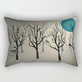 Among the Wolves... Rectangular Pillow