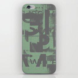 Typefart 002 iPhone Skin