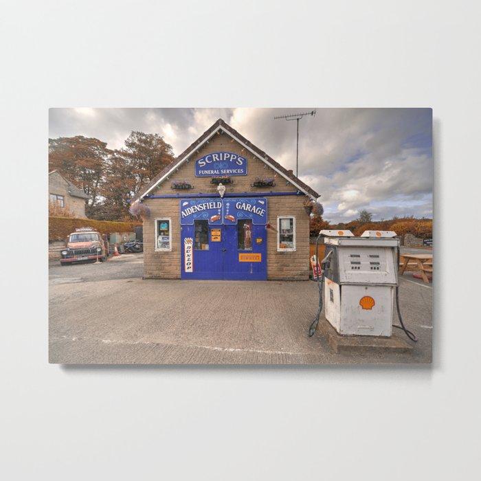 Aidensfield Garage  Metal Print