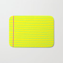 Business Notes Bath Mat