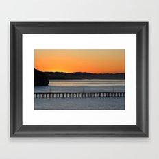 California Mornings  Framed Art Print