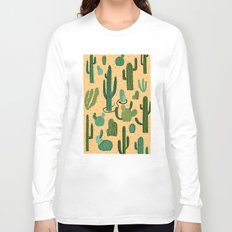 The Snake, The Cactus and The Desert Long Sleeve T-shirt
