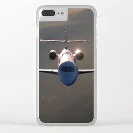 Reflections on a Plane Clear iPhone Case