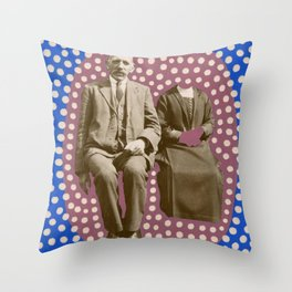 The Invisible Wife Throw Pillow