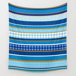 hanukkah wrap Wall Tapestry