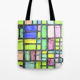 Homage to Mondrian Tote Bag