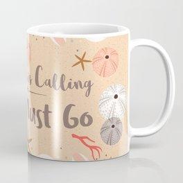 The Ocean is Calling Coffee Mug