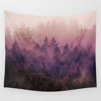 fog Wall Tapestries featuring The Heart Of My Heart by Tordis Kayma