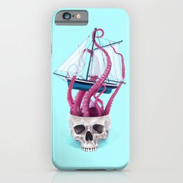 RELEASE THE KRAKEN iPhone Case