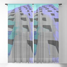 Gehry-Tower Sheer Curtain