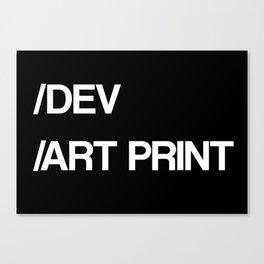 /DEV Canvas Print
