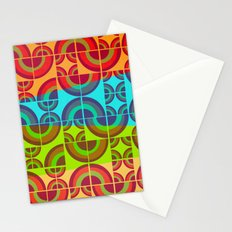 Vintage Candy Pattern Stationery Cards