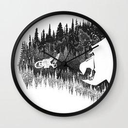 Fullface MTB Helmet Wall Clock