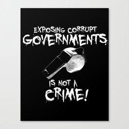Whistleblower Canvas Print