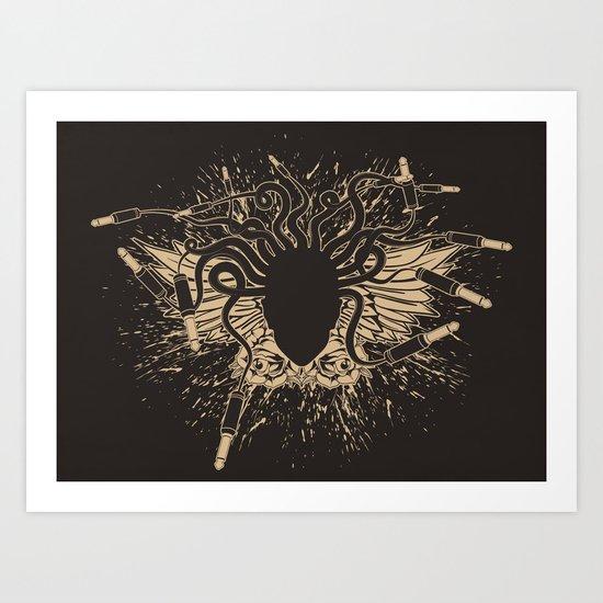 Medusound Art Print
