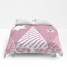 Stars forest Comforters