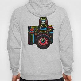 Black Camera Hoody