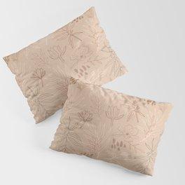 Desert Leaf Pattern Pillow Sham
