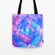 Diamond Galaxy Tote Bag