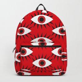 Mechanical eyes Backpack