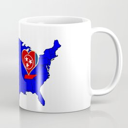 State of Tennessee Coffee Mug