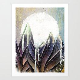My magical beans garden Art Print