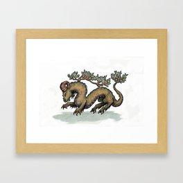 Yrm bonsai (clean version) Framed Art Print