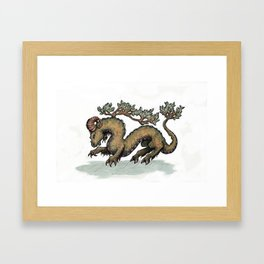 Yrm bonsai (clean version) Framed Art Print