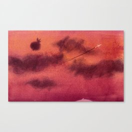 Dreaming of sky Canvas Print
