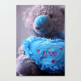 Love Bear Canvas Print