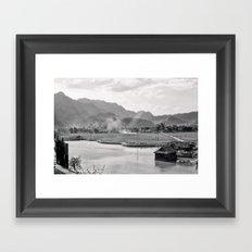 Vietnam Landscape Framed Art Print