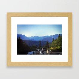 SFU Burnaby Framed Art Print