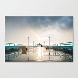 The Deserted Pier Canvas Print