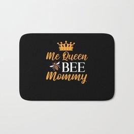 Womens Queen Bee Mom Bath Mat