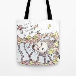 Autumn lover Tote Bag