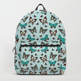 Butterfly Wallpaper Lots Of Brown Butterflies Backpack