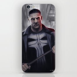 The Punisher iPhone Skin