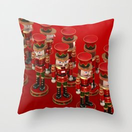 Nutcrackers Throw Pillow