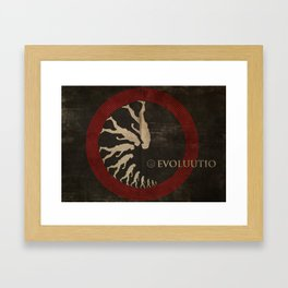 Evoluutio (Evolution) Framed Art Print