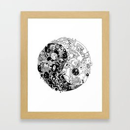 Sid-Sang Framed Art Print