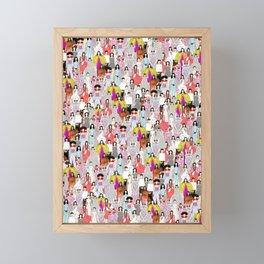 Bjork-A-thon Framed Mini Art Print