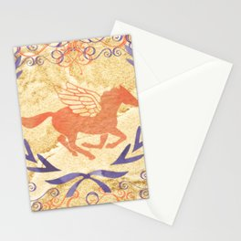 camp half blood in gold Stationery Cards