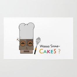 Wanna Some Cakes? Rug