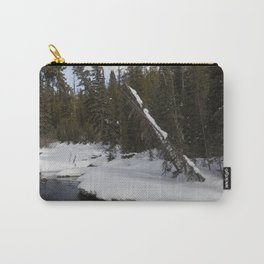 Carol M Highsmith - Snow Covered Landscape Carry-All Pouch