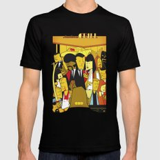 Pulp Fiction Black MEDIUM Mens Fitted Tee