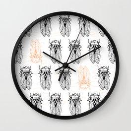Cicada Army Rising Wall Clock