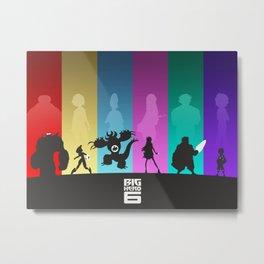 The Big Hero 6 Metal Print
